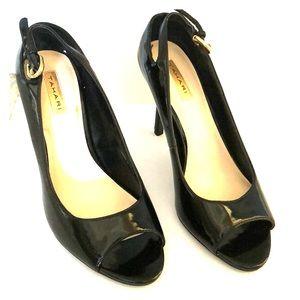 Tahari black high heels